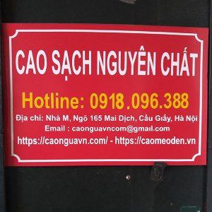 Bán cao mèo đen ở Hà Nội